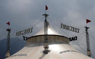 Das Zelt zu Gast in Lugano