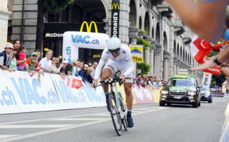 Start zur Tour de Suisse in Lugano