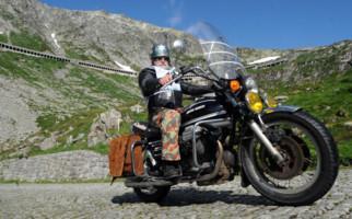 Motorradtreffen am Gotthard