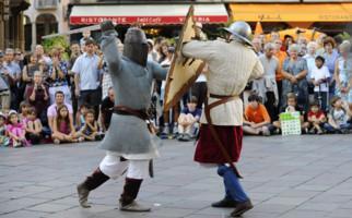 Lugano feiert das Mittelalter