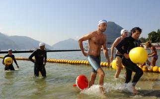 Seeschwimmen im Ceresio