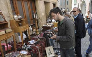 Antiquitätenmesse in Mendrisio