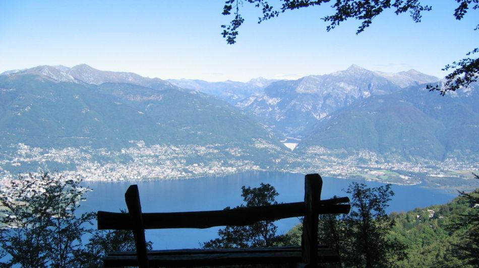 Ticino Weekend - Über die Monti des Gambarogno wandern