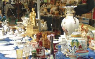 Antiquitäten in Locarnos Altstadt