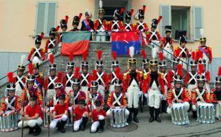 Prozession von Leonticas Miliz