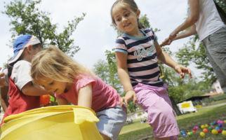 Kinderland beim Sommerfest