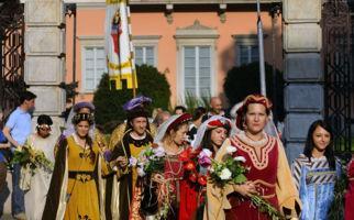 In Luganis ist jetzt Mittelalter