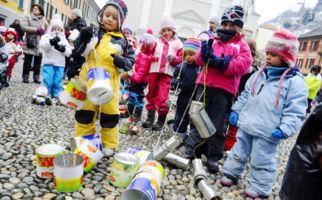 Locarno vertreibt die Wintergeister
