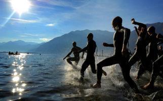 Der Triathlon bewegt Locarno
