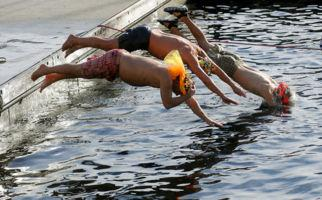 Schwimmen für Unverfrorene