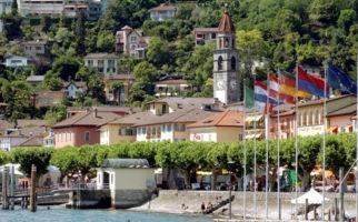 Ein traditioneller Markt in Ascona