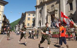 Military Cross in Bellinzona