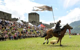 Verwegene Ritter in Bellinzona