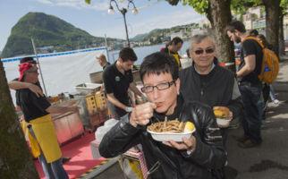 Lugano lädt zum Fischschmaus
