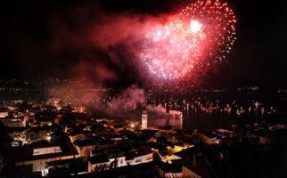 Feuerwerk auf die Freiheit
