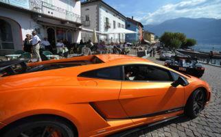 Sportwagentag am See Asconas
