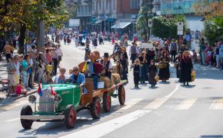 In Lugano wird Bacchus gefeiert