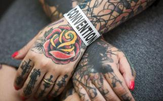 Ti-Tattoo: der Bilderbuchleib
