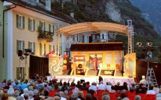 Eine Open Air Operette in Cevio