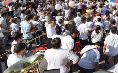 Bellinzona und Giubiasco feiern