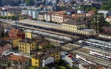 Neuer Bahnhof von Bellinzona