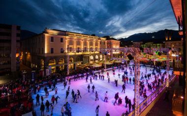 Auftakt zu Locarno on Ice
