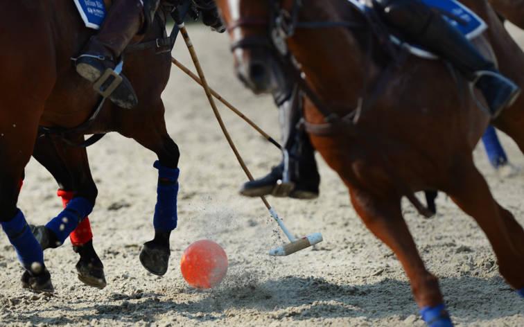 Volle Action beim Ascona Polo Cup