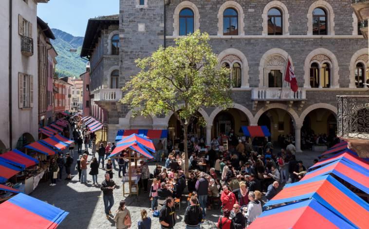 Bellinzona feiert mit Burgh in fera