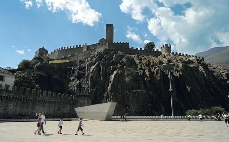 Bellinzona beim Stadtlauf Luzern