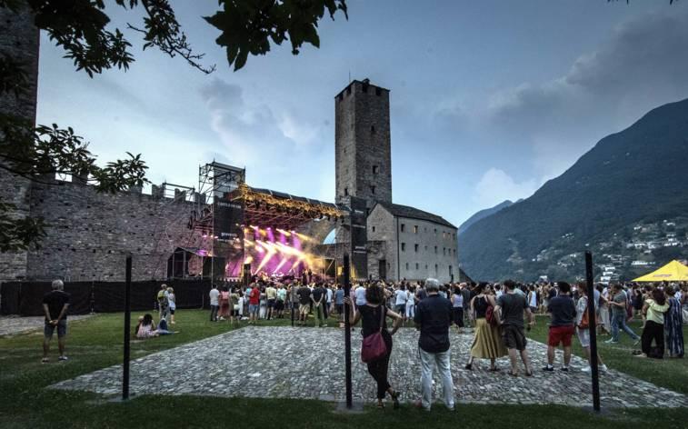 Bellinzona: Pop auf der Burg