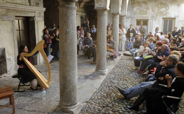 In Locarno klingen die Innenhöfe
