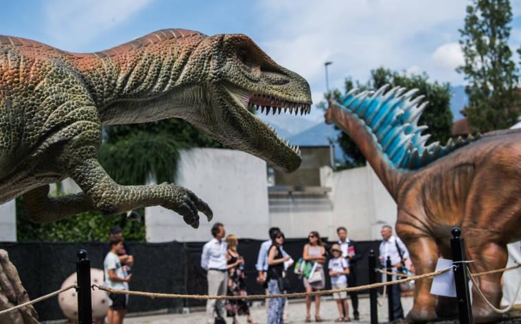 Lebensnahe Zeitreise in die Welt der Dinosaurier
