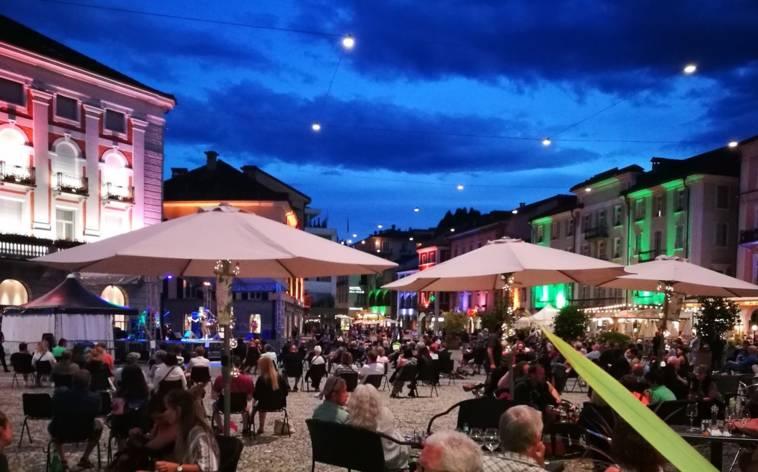 Die Piazza Grande als Musik-Lounge
