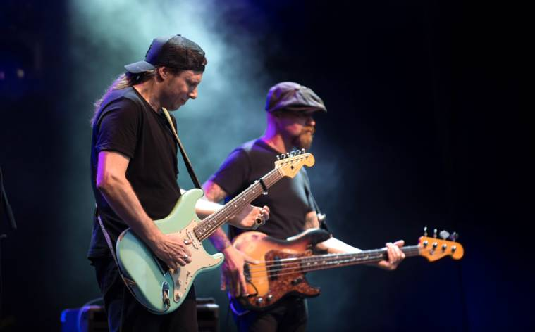 Blues and more in Lugano