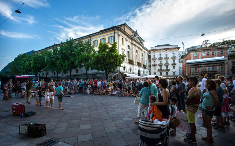 LongLake Lugano, das Stadt-Open-Air