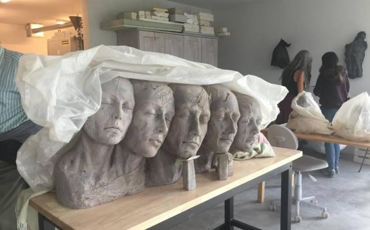 Eine Region, die ihre Kunstateliers öffnet