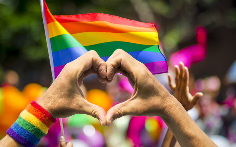 """Farbe bekennen bei der """"Pride"""""""