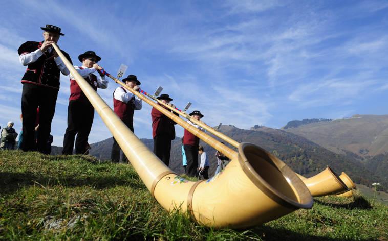 Alpenmusik auf dem Generoso