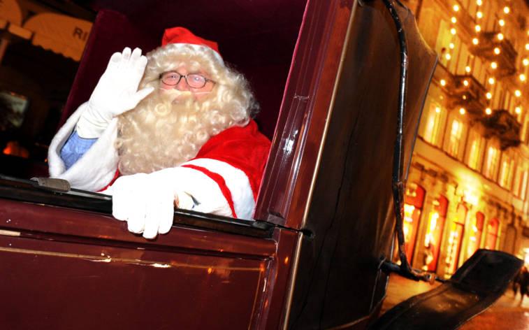 Treffen Sie den Heiligen Nikolaus