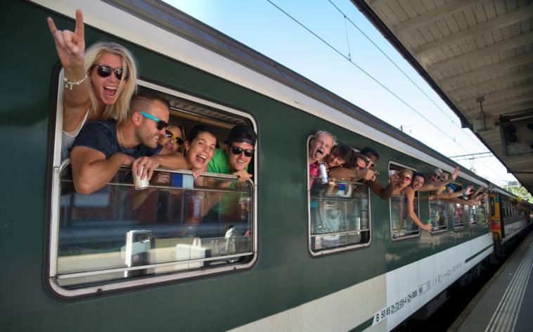 Bahnhof Lugano feierlich eröffnet