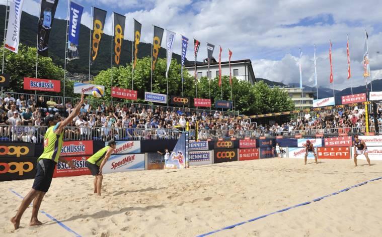 Beachvolley: Sand und Spiele