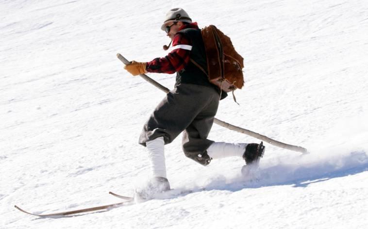 Skigebiet Nara im Telemark-Fieber