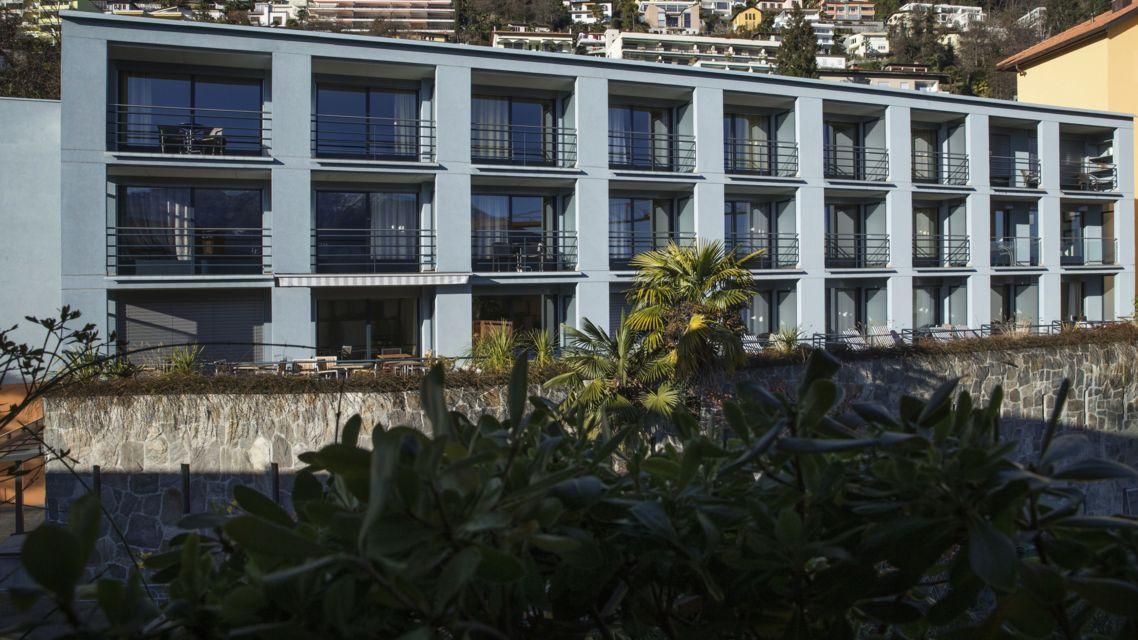 Ticino weekend wettbewerb 3 hotel la barca blu orselina for Design hotel tessin