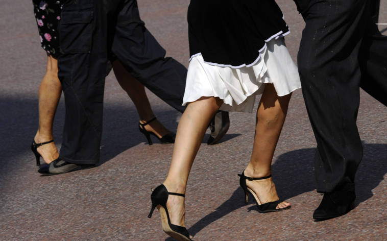 Tanzprofis und toller Tango in Ticino