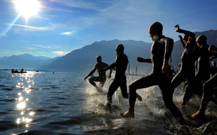 Viel Spass beim Triathlon Locarno